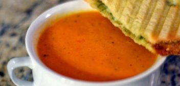 Томатный суп-пюре — супы на первое