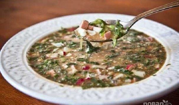 Окрошка на квасе (классический рецепт) — супы на первое